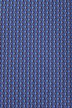 Ermenegildo Zegna - Navy Geometric Print Silk Necktie