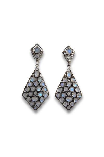 Loriann - Kite Moonstone Earrings