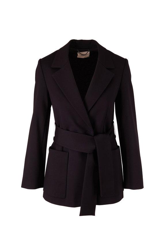Dorothee Schumacher Emotional Essence Black Tie Waist Blazer