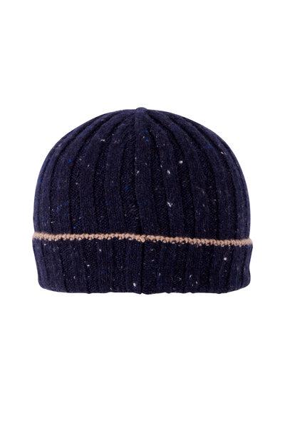 Brunello Cucinelli - Donegal Navy & Tan Hat