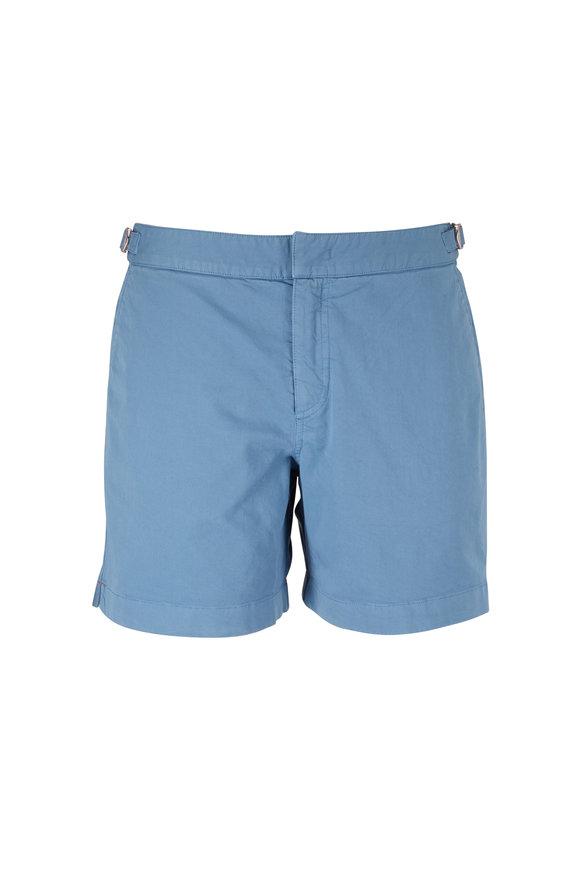 Orlebar Brown Bulldog Capri Cotton Twill Shorts