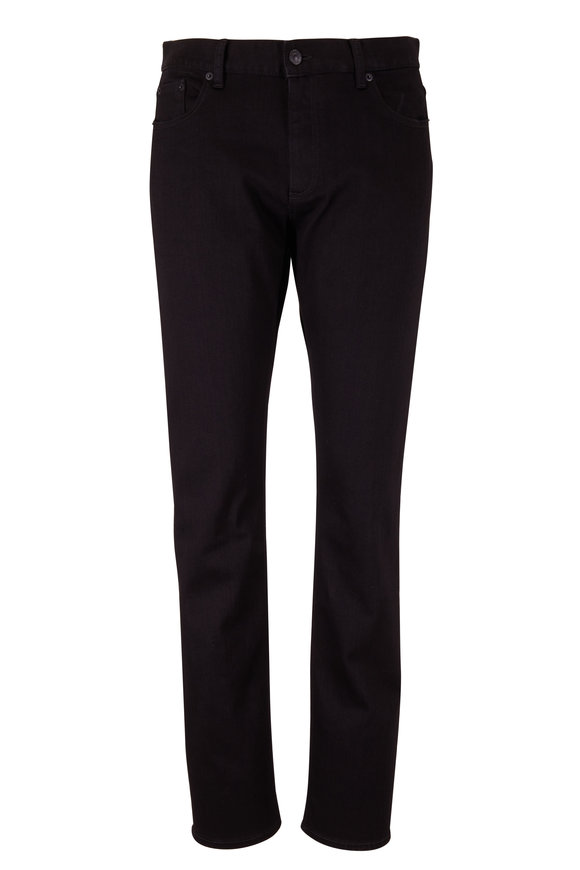 Ermenegildo Zegna Black Tailored Straight Leg Jean