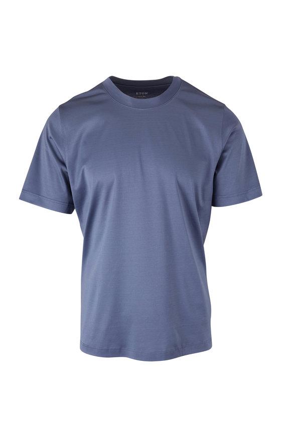 Eton  Filo di Scozia Slate T–Shirt