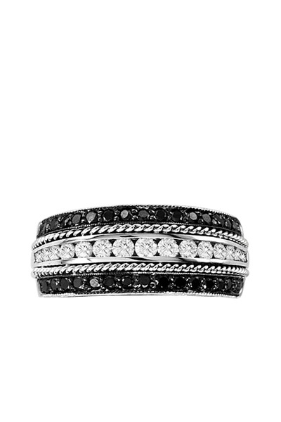 Penny Preville - Black Diamond Channel-Set Ring
