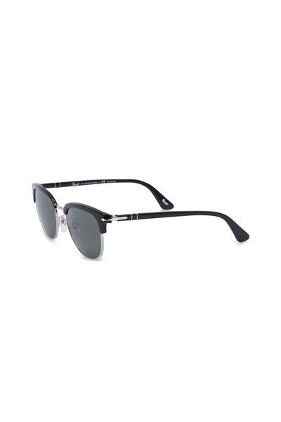 Persol - Phantos Black Polarized Sunglasses