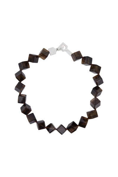 Patricia von Musulin - Sterling Silver Smoky Topaz Necklace