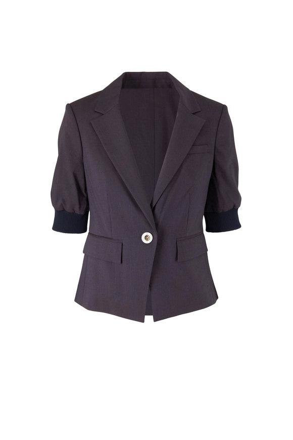 Veronica Beard Margereth Navy Sport Dickey Jacket