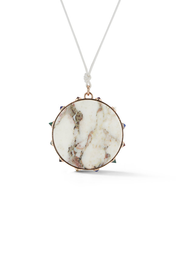 Walters Faith Marble & Semi Precious Stone Pendant