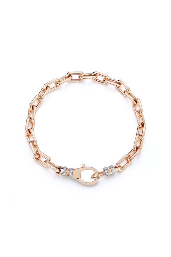 Walters Faith Rose Gold Ten Link Chain Bracelet