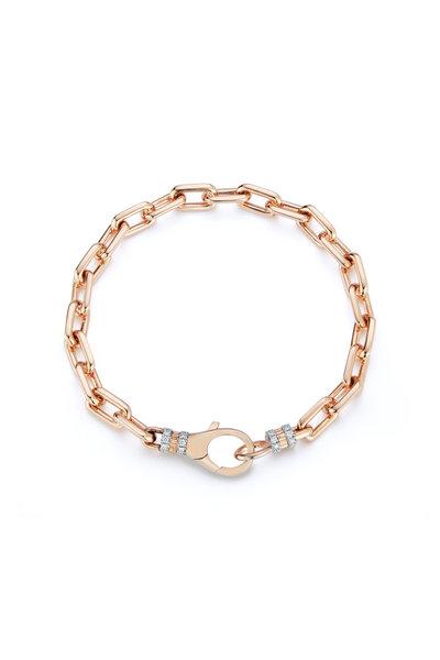 Walters Faith - Rose Gold Ten Link Chain Bracelet
