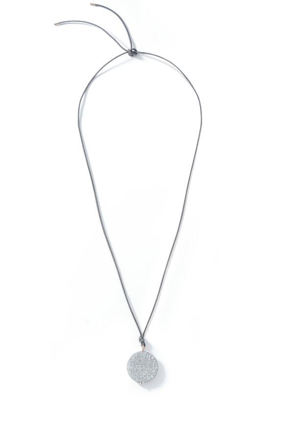 Walters Faith Diamond Pebble Pendant