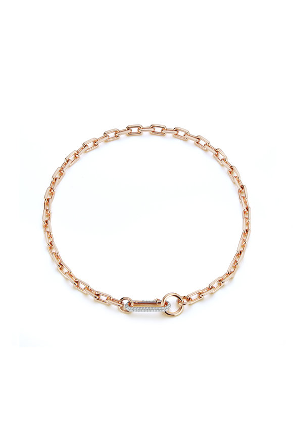 Walters Faith Rose Gold Link Necklace