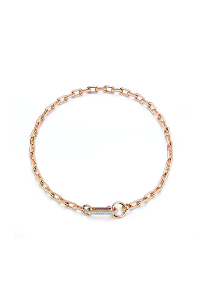Walters Faith - Rose Gold Link Necklace