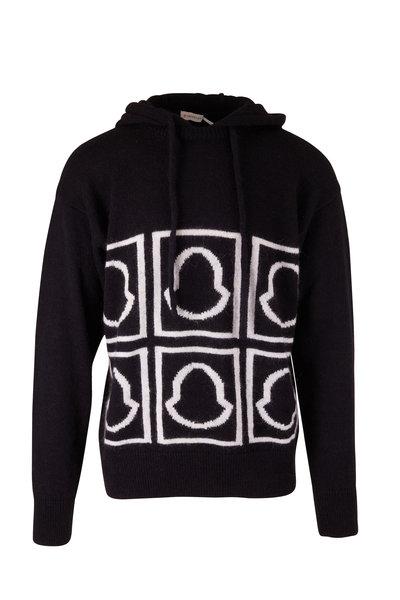 Moncler - Black Logo Hoodie