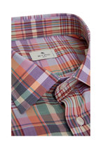Etro - Pink Bold Cotton Plaid Sport Shirt