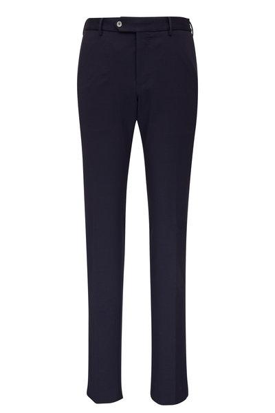 PT Torino - Navy Stretch Techno Jersey Slim Fit Pant