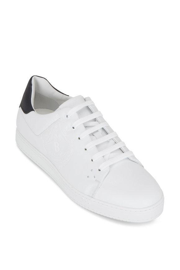 Berluti Palermo 1 White Leather Low Top Sneaker
