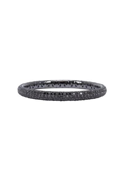 Mattia Cielo - 18K Rhodium Gold Diamond Bracelet