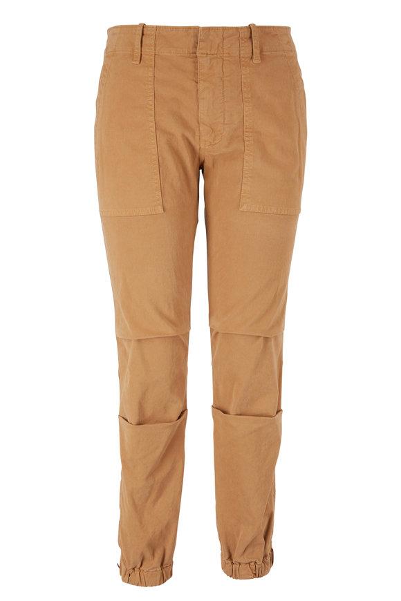 Nili Lotan Fawn Cropped Military Pant