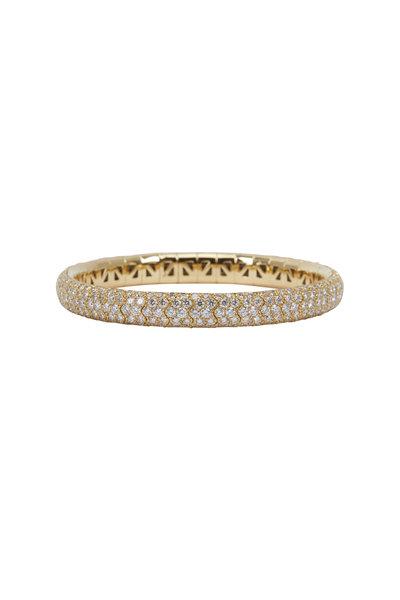 Mattia Cielo - 18K Yellow Gold Diamond Bracelet