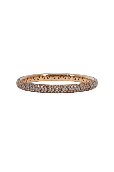 Mattia Cielo - Pink Gold Diamond Universal Bracelet