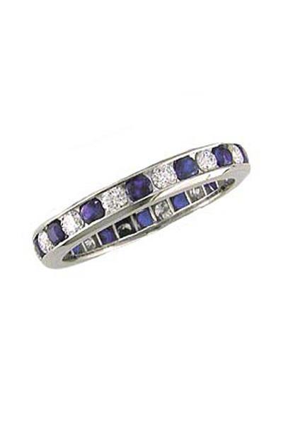 Oscar Heyman - Sapphire And Diamond Ring