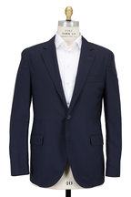 Brunello Cucinelli - Navy Blue Lightweight Travel Sportcoat