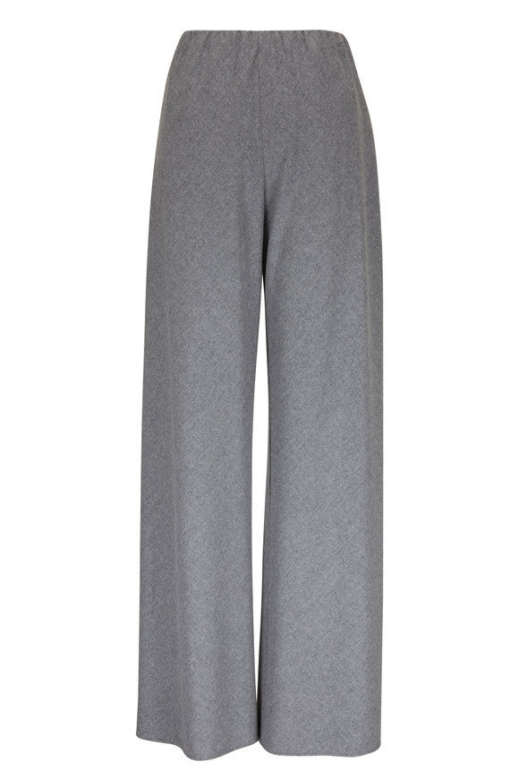 Vince Thistle Flannel Pull On Pant