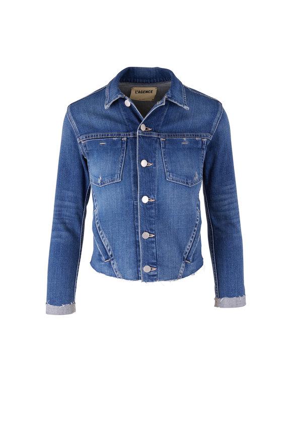 L'Agence Janelle Shasta Slim Fit Jean Jacket