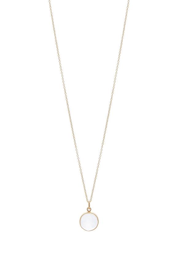 Caroline Ellen Quartz Pendant Necklace