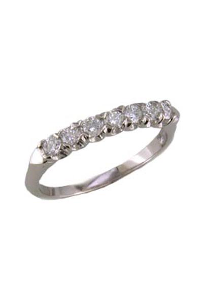 Oscar Heyman - Diamond Platinum Guard Ring