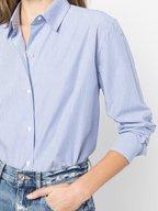 Nili Lotan - Casey Blue Stripe Button Down