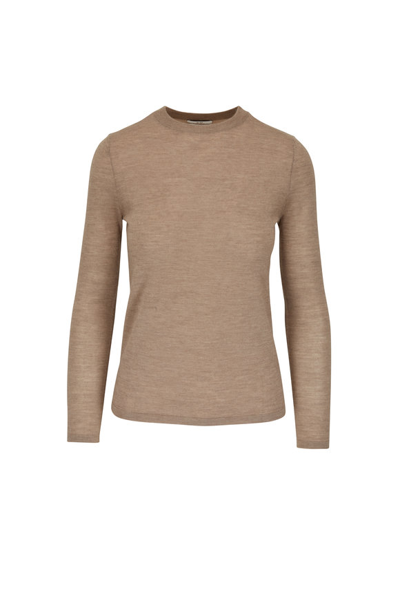 CO Collection Taupe Cashmere Long Sleeve T-Shirt