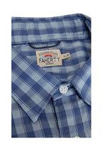 Faherty Brand - Movement Ocean Blue Check Button Down