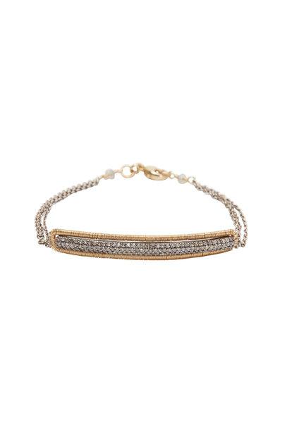 Dana Kellin - Diamond Silver Bracelet