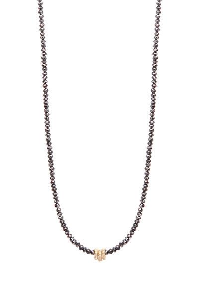 Dana Kellin - Gold Black Diamond Necklace