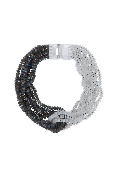 Patricia von Musulin - Moonstone & Elaborative Necklace