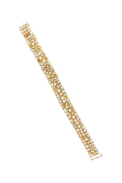 Louis Newman - Yellow Diamond Bracelet