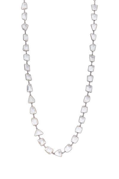 Loriann - Quartz Geometric Shape Necklace