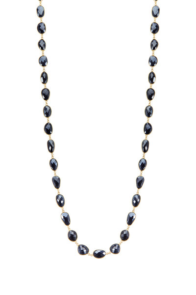 Loriann - 18K Yellow Gold Vermeil Mystic Spinel Necklace