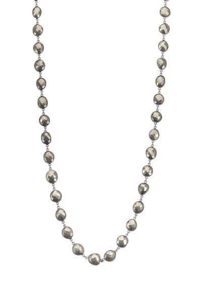 Loriann - Organic Pyrite Accessory Chain Necklace