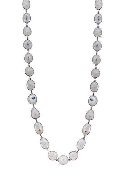 Loriann - Moonstone Chain Necklace