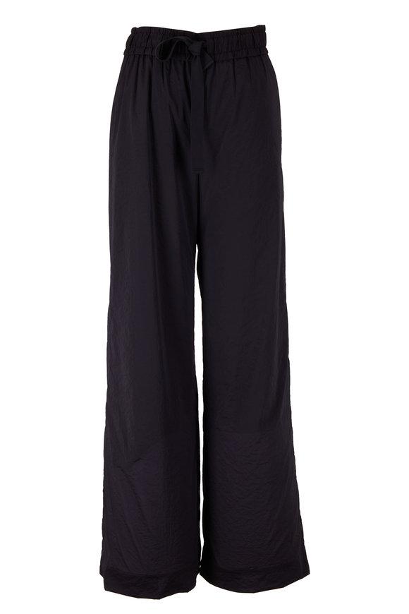 KZ_K STUDIO Glazed Black Pull-On Pant