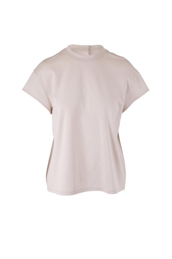 KZ_K STUDIO Gifu Beige Button Back Shirt