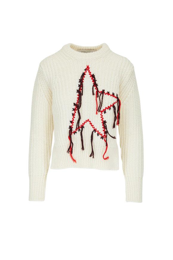 Golden Goose Dottie Mulitcolor Knit Sweater