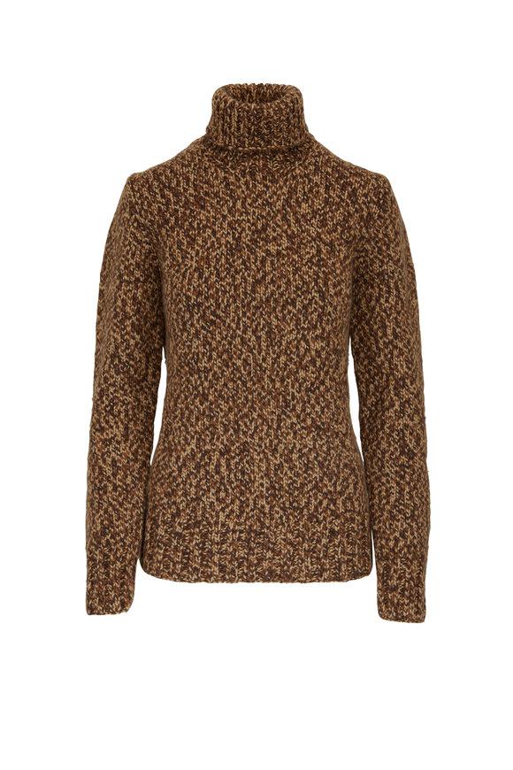 Michael Kors Collection Barley Handknit Cashmere Turtleneck