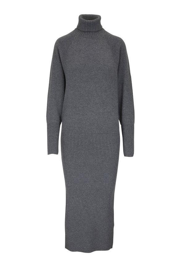 Michael Kors Collection Banker Mélange Cashmere Dress