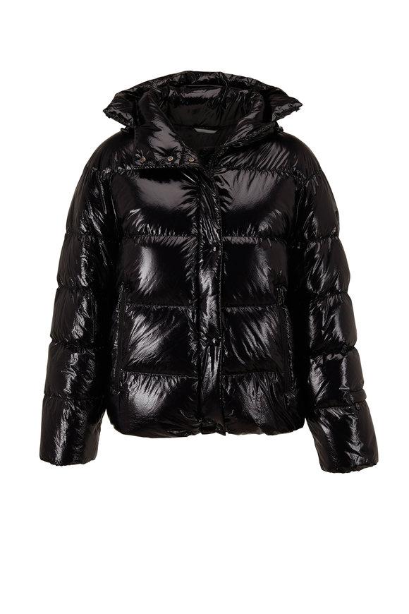 Bogner Evelia-D High Gloss Black Puffer Jacket