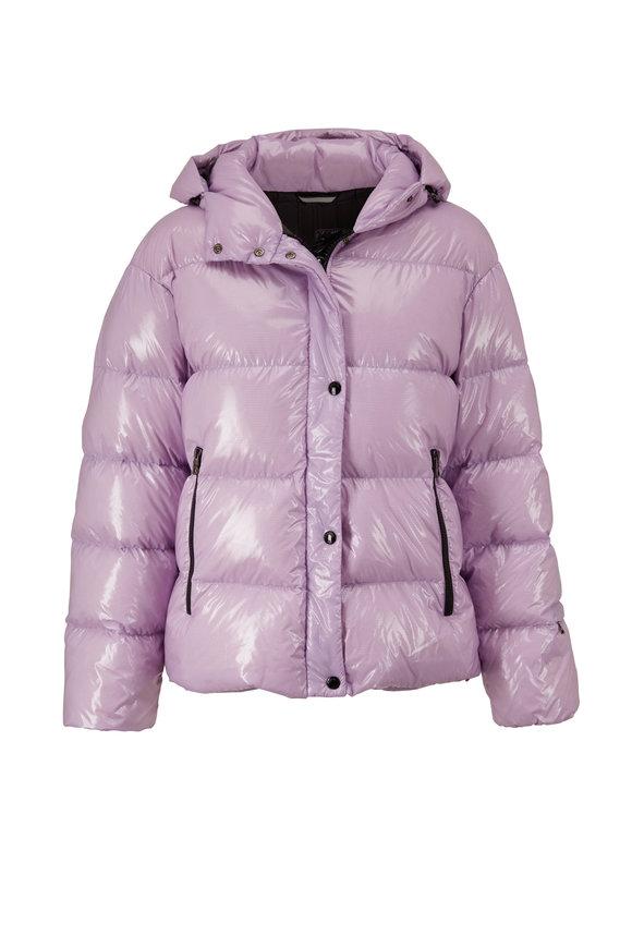 Bogner Evelia-D High Gloss Mauve Puffer Jacket