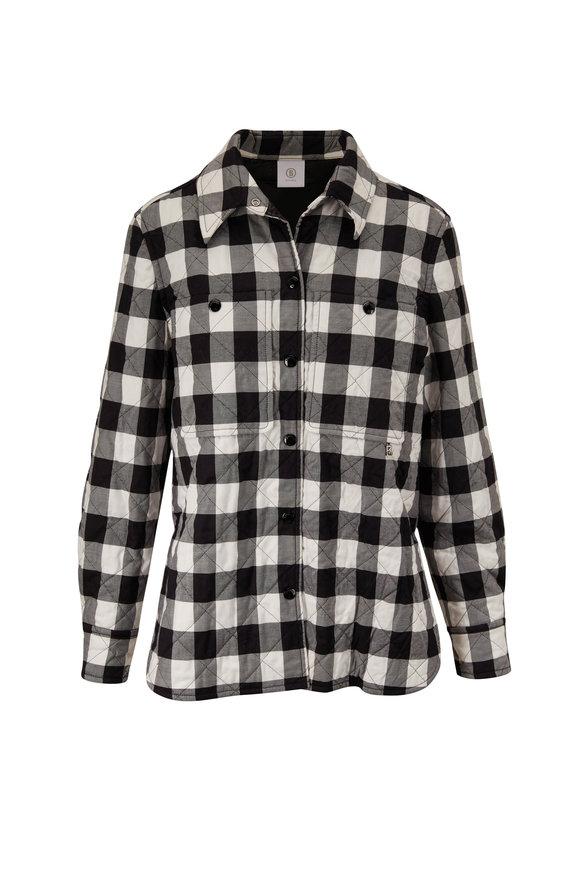 Bogner Nele Black & White Lightweight Overshirt